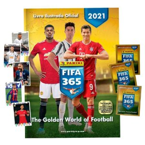 Starter Pack Fifa 365 20/21 - Livro + 60 Cromos
