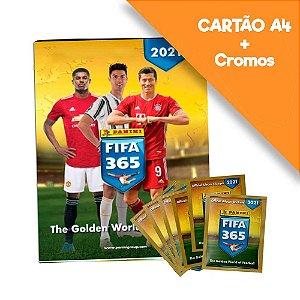 Cartão A4 Fifa 365 20/21 6Env + Cartão A4