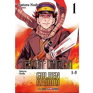 Box Golden Kamuy - Do 01 ao 05