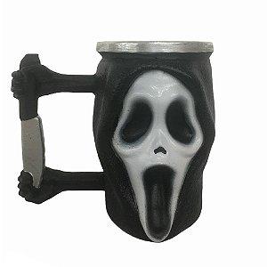 Caneca 3D Ghost Face Pânico