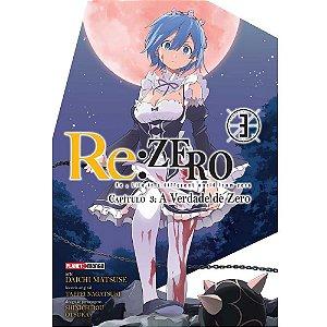 Re: Zero Capitulo 3: A Verdade De Zero - 03