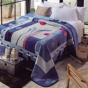 Cobertor Casal Atenas Jolitex Ternille Kyor Plus 1,80cm x 2,20cm