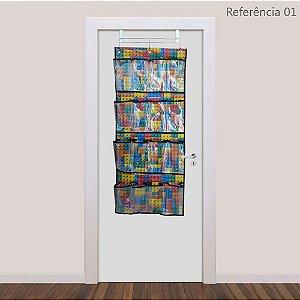 Sapateira Organizadora Infantil Porta 16 Divisórias Lego