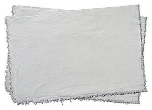 Saco Alvejado Branco Pano De Chão Atacado 75un