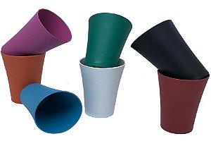 150 Copos Plastico Duro 250 mL