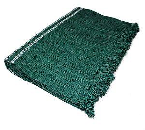 Manta Decorativa Verde 2,40x1,80m