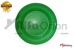 Pratos De Plástico Redondo Verde Duro 24 Cm