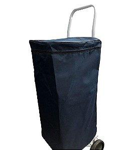 Bolsa De Carrinho De Feira Azul