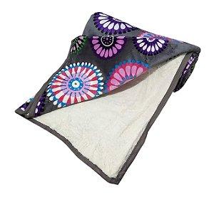 Cobertor Carneiro Estampado - 11926