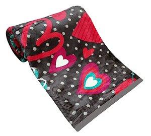 Cobertor Carneiro Estampado - 11928