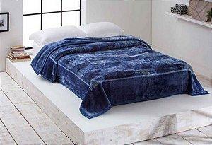 Cobertor Corttex - Triton Azul Marinho