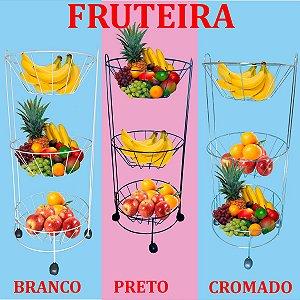 Fruteira Com 3 Cestos