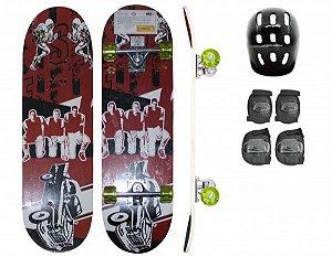Skate - Vermelho