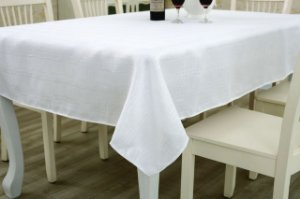 Toalha De Mesa Maquinetada - Branca