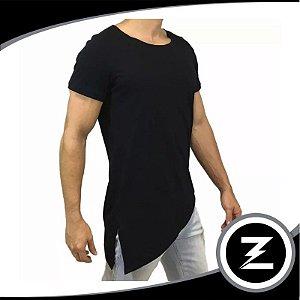 Camiseta Malha Slim Cm030 Longline Camisa