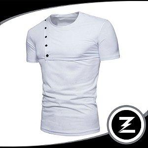 Camiseta Malha Slim Cm034 Camisa
