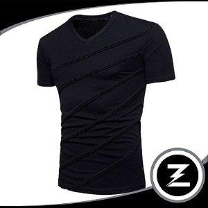 Camiseta Malha Slim Cm031 Camisa