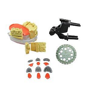 Kit - Oclusor, Bases e Disco para Troquéis