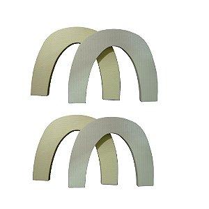 Kit com 4 Arcos de Fibra de Vidro 3.5mm - Arch Free Metal