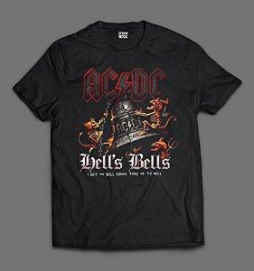 Camiseta AC/DC - Hell's Bells