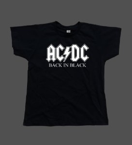 Baby Look AC/DC - Back in Black