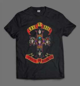 Camiseta - Guns N'Roses - Appetite for Destruction