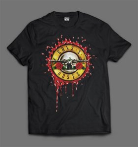 Camiseta Guns N'Roses - Blood