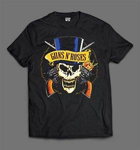 Camiseta - Guns N'Roses - Skull