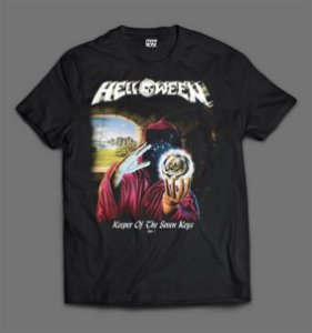 Camiseta - Helloween - Keeper of the Seven Keys.