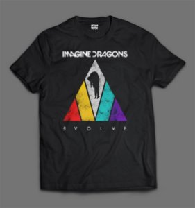 Camiseta - Imagine Dragons - Evolve