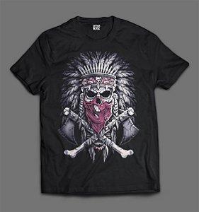 Camiseta Índio Americano