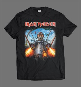 Camiseta - Iron Maiden - Aces High