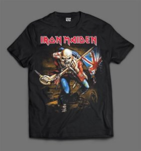 Camiseta - Iron Maiden - The Trooper.