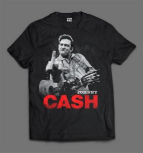 Camiseta - Johnny Cash - Finger.
