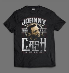 Camiseta - Johnny Cash - The Man