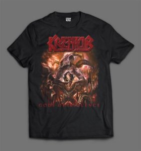 Camiseta - Kreator - Gods of Violence
