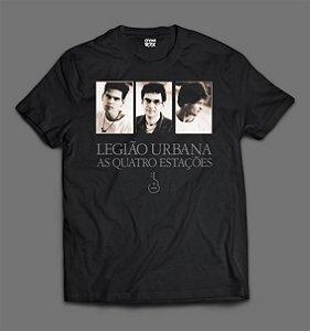 Camiseta Legião Urbana - As Quatro Estações