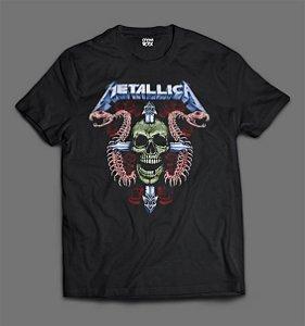 Camiseta - Metallica - Skull