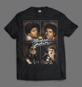 Camiseta - Michael Jackson - Fotos.