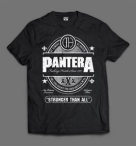 Camiseta Panteras - Stronged Than All