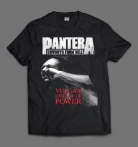 Camiseta - Pantera - Vulgar Display of Power.