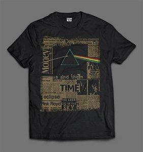 Camiseta - Pink Floyd - Jornal