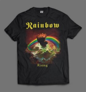 Camiseta - Rainbow - Rising.