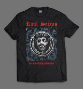 Camiseta - Raul Seixas - Sociedade Alternativa