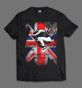 Camiseta The Who - Bandeira