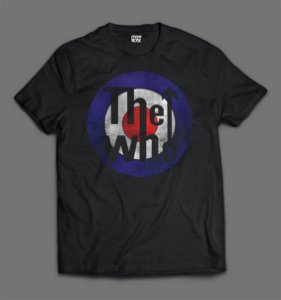 Camiseta The Who - Logo