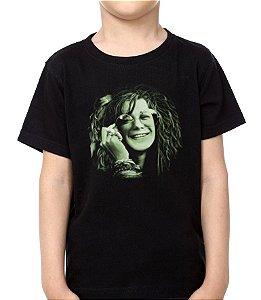 Camiseta - Infantil - Janis Joplin