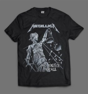 Camiseta - Infantil - Metallica - Justice for All