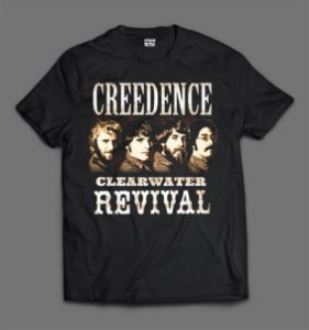 Camiseta - Creedence - Clearwater Revival