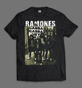 Camiseta - Ramones - Gabba Gabba Hey